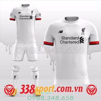 Áo đấu Liverpool 2020 màu trắng tự thiết kế