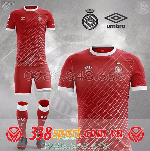 áo đấu tự thiết kế đẹp màu đỏ 2020
