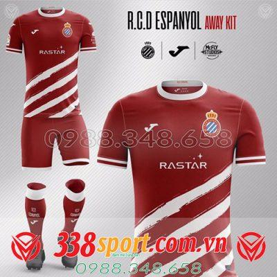 áo đấu tự thiết kế đẹp 2020 màu đỏ