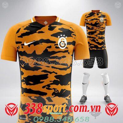 áo đấu tự thiết kế màu cam đẹp giá rẻ 2020