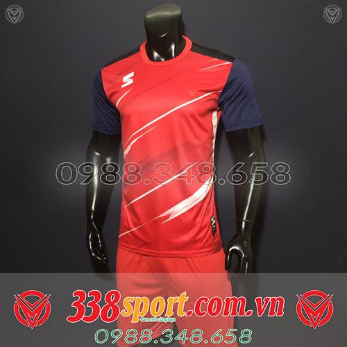 áo bóng đá không logo đẹp màu đỏ
