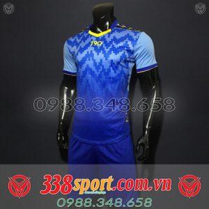 áo đấu không logo đẹp giá rẻ màu xanh đậm