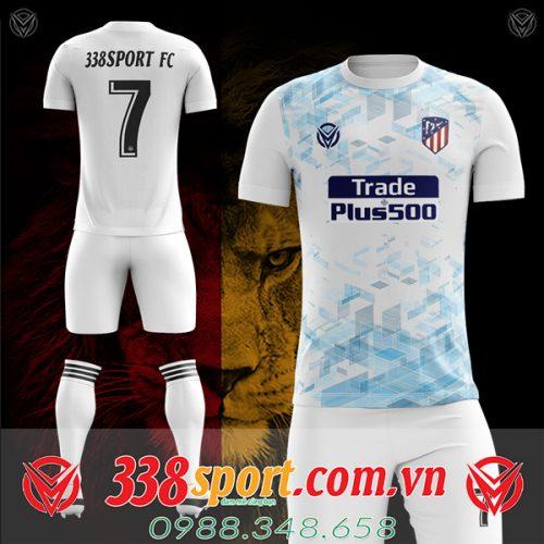 Áo bóng đá Atletico tự thiết kế mã Atl-03