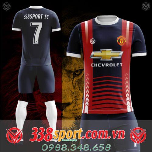 Áo bóng đá Mu tự thiết kế mã mu-05