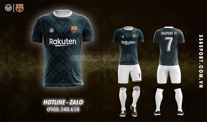 áo bóng đá Barca 2021
