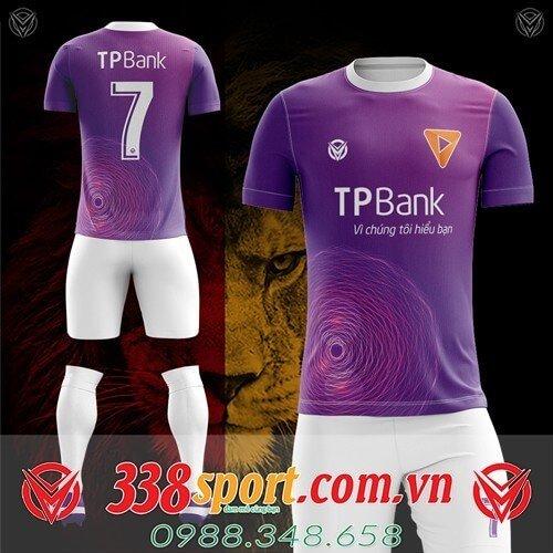 Áo ngân hàng TPBank tự thiết kế