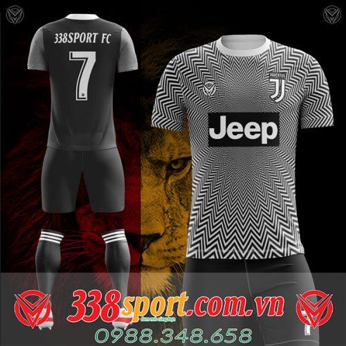 Áo Juventus tự thiết kế mã juv-02