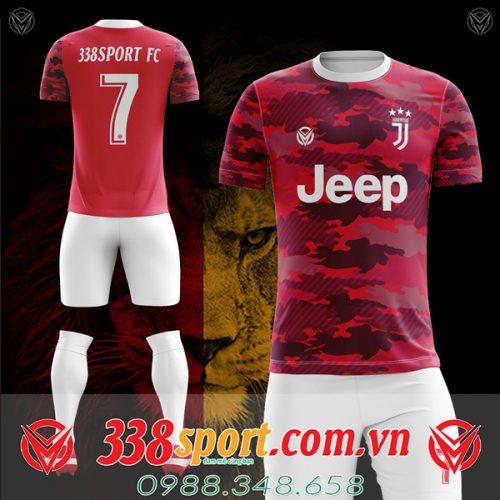 Áo Juventus tự thiết kế mã juv-06